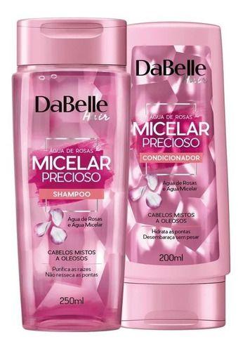 Kit Shampoo E Condicionador Dabelle Hair Micelar Precioso