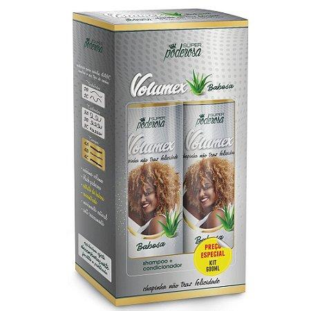 Kit Shampoo E Condicionador Mais Volume Babosa Volumex 300 mL