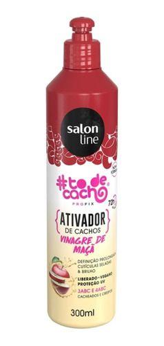 Ativador De Cachos #todecacho Vinagre De Maçã Salon Line 300ml