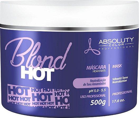 Máscara Hidratante Matizadora Blond Hot Absoluty Color 500g