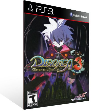 Disgaea 3 Absence Of Justice - Ps3 Psn Mídia Digital