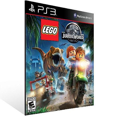 Lego Jurassic World - Ps3 Psn Mídia Digital