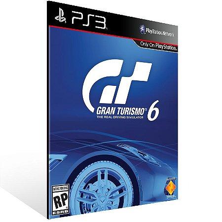 Gran Turismo 6 - Ps3 Psn Mídia Digital