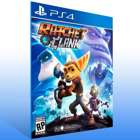 Ratchet & Clank - Ps4 Psn Mídia Digital