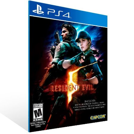 Resident Evil 5 - Ps4 Psn Mídia Digital