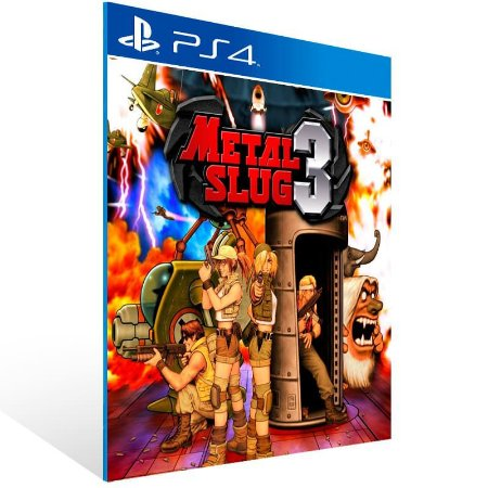 Metal Slug 3 - Ps4 Psn Mídia Digital