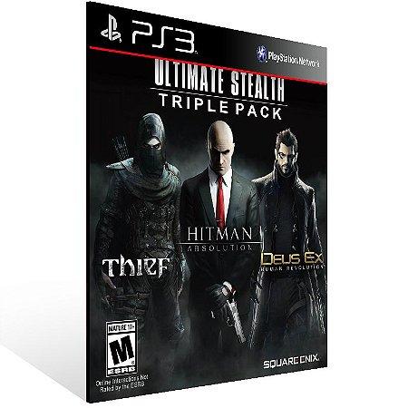 Ultimate Stealth Triple Pack - Ps3 Psn Mídia Digital