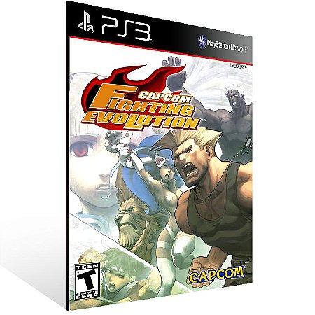 Capcom Fighting Evolution - Ps3 Psn Mídia Digital
