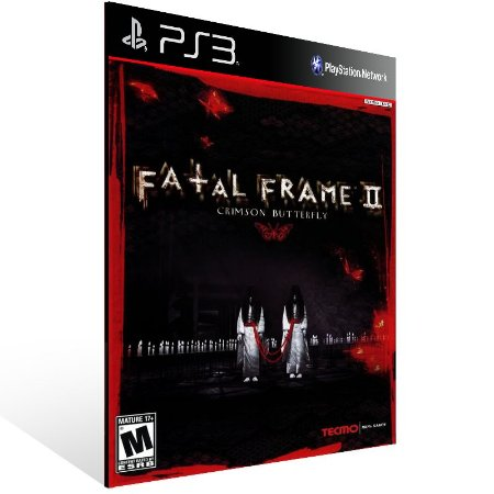 Fatal Frame 2: Crimson Butterfly - Ps3 Psn Mídia Digital