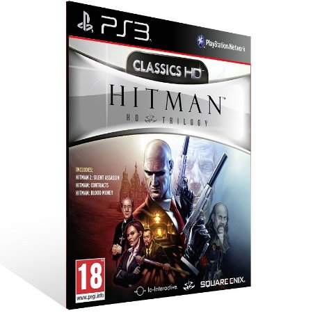 Hitman Trilogy Hd - Ps3 Psn Mídia Digital