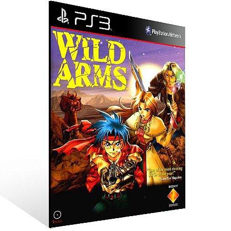 Wild Arms (Psone Classic) - Ps3 Psn Mídia Digital