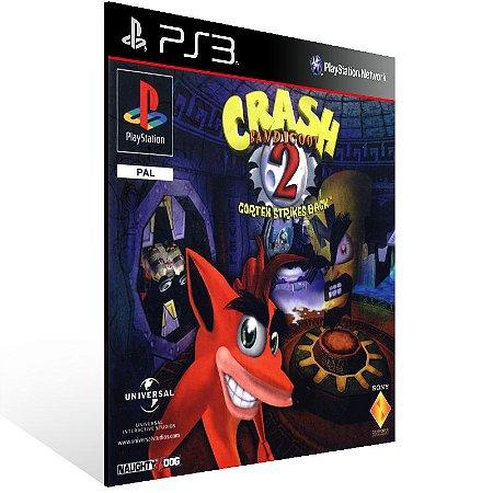 Crash Bandicoot 2 - Ps3 Psn Mídia Digital