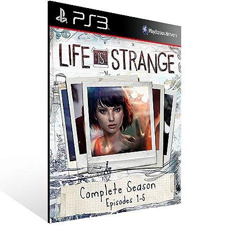 Life Is Strange Complete Season - Ps3 Psn Mídia Digital