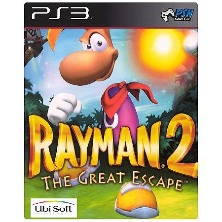 Rayman 2: The Great Escape PS3 - Mídia Digital