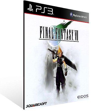 Final Fantasy 7 - Ps3 Psn Mídia Digital