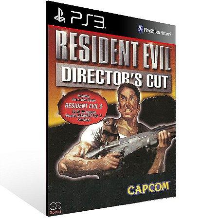 Resident Evil Directors Cut - Ps3 Psn Mídia Digital