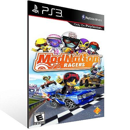 Modnation Racers - Ps3 Psn Mídia Digital