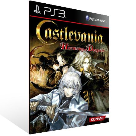 Castlevania Harmony Of Despair - Ps3 Psn Mídia Digital