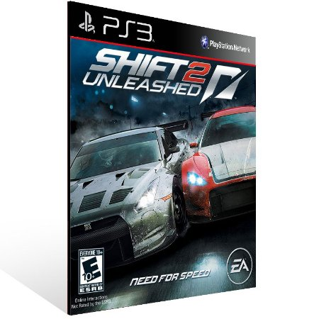 Shift 2 Unleashed - Ps3 Psn Mídia Digital