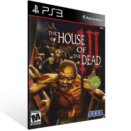 The House Of The Dead 3 - Ps3 Psn Mídia Digital