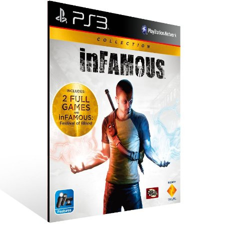 Infamous Collection - Ps3 Psn Mídia Digital