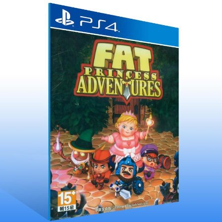 Fat Princess Adventures - Ps4 Psn Mídia Digital