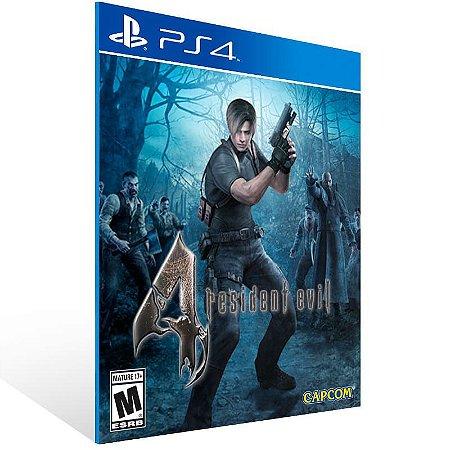 Resident Evil 4 - Ps4 Psn Mídia Digital