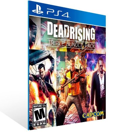 Dead Rising Triple Pack - Ps4 Psn Mídia Digital