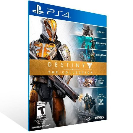 Destiny The Collection - Ps4 Psn Mídia Digital