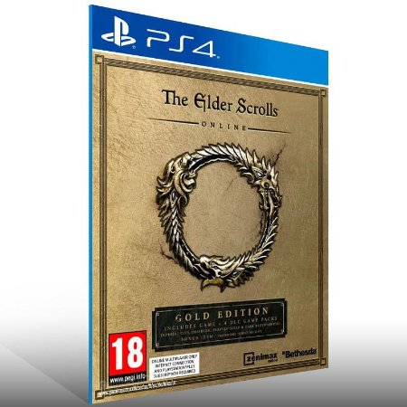 The Elder Scrolls Online: Gold Edition - Ps4 Psn Mídia Digital