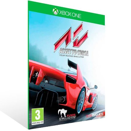 Assetto Corsa - Xbox One Live Midia Digital