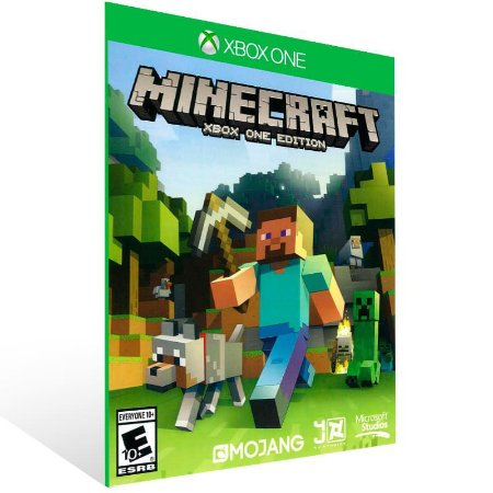 Minecraft: Xbox One Edition - Xbox One Live Mídia Digital