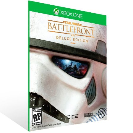 Star Wars Battlefront Deluxe Edition - Xbox One Live Mídia Digital