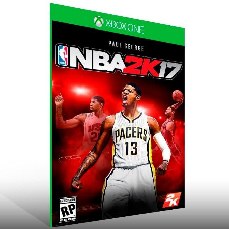 NBA 2K17 - Xbox One Live Mídia Digital