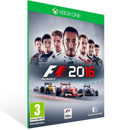 F1 2016 - Xbox One Live Mídia Digital