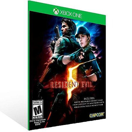 Resident Evil 5 - Xbox One Live Mídia Digital