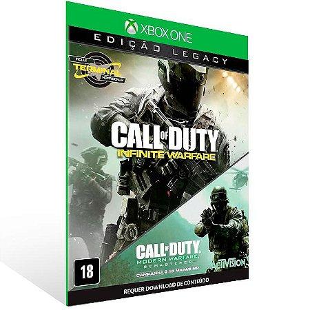 Call of Duty: Infinite Warfare Legacy - Xbox One Live Midia Digital