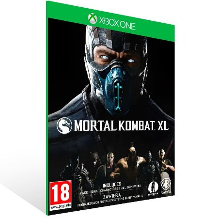 Mortal Kombat XL - Xbox One Live Mídia Digital