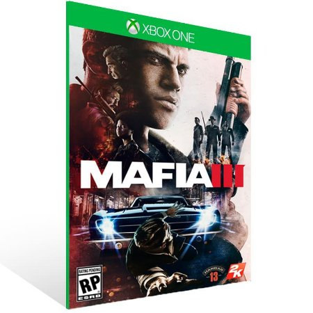 Mafia 3 - Xbox One Live Mídia Digital