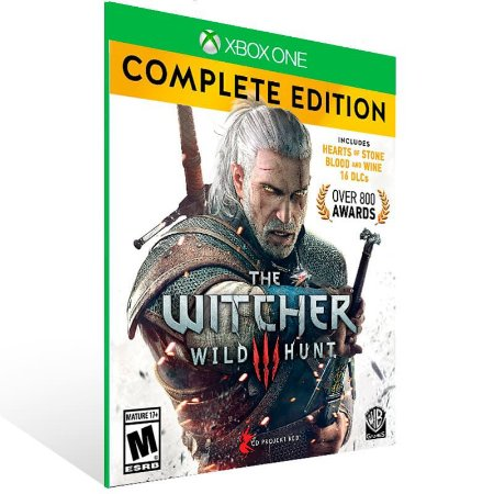 The Witcher 3 Wild Hunt Complete Edition - Xbox One Live Mídia Digital