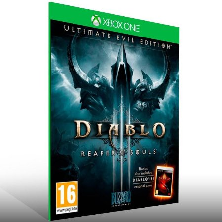 Diablo 3: Reaper Of Souls Ultimate Evil Edition - Xbox One Live Mídia Digital