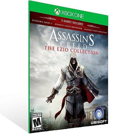 Assassins Creed The Ezio Collection - Xbox One Live Midia Digital