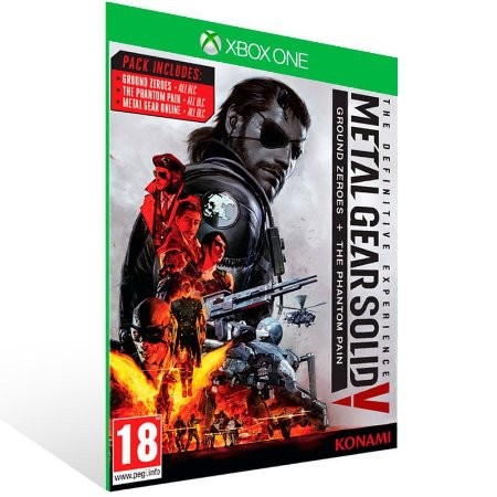 Metal Gear Solid V: The Definitive Experience - Xbox One Live Mídia Digital