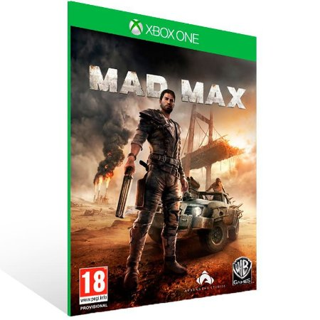 Mad Max - Xbox One Live Mídia Digital