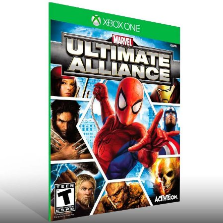 Marvel: Ultimate Alliance - Xbox One Live Mídia Digital