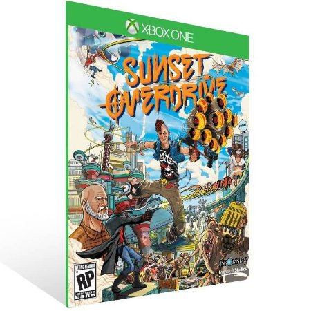 Sunset Overdrive - Xbox One Live Mídia Digital