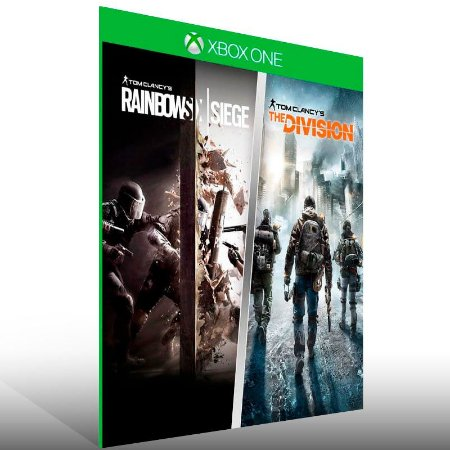 Tom Clancy: Rainbow Six Siege + The Division - Xbox One Live Mídia Digital