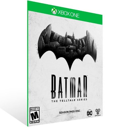 Batman The Telltale Series The Complete Season - Xbox One Live Midia Digital