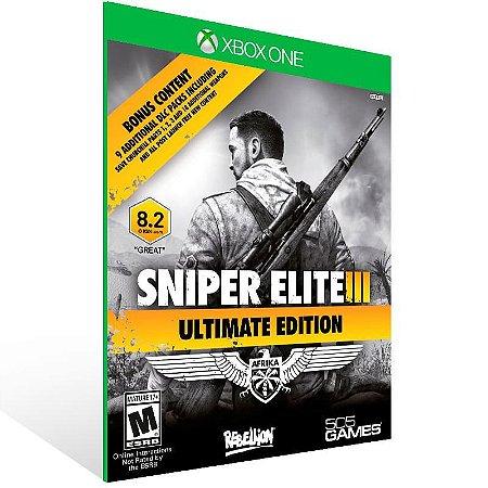 Sniper Elite 3 Ultimate Edition - Xbox One Live Mídia Digital