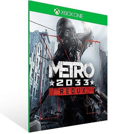 Metro 2033 Redux - Xbox One Live Mídia Digital